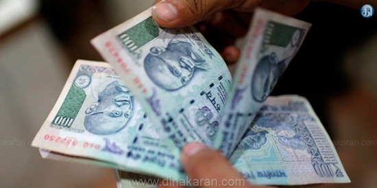 The rupee depreciated 7 paise against the dollar