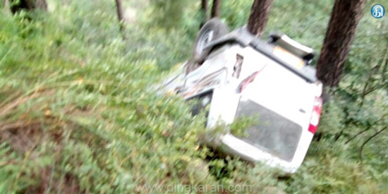 Jeep fell into the gorge in Himachal Pradesh, one killed