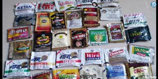 Housed in the house 5.5 lakh gutka material confiscated