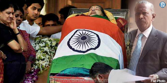 Jayalalithaa's death trial begins on 25th october
