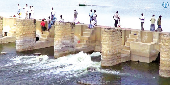 Water opening in Rajavakka for drinking water from the Jertpalayam Dam