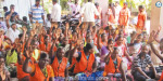 Majestic AIADMK councilor condemns cleaning workers' sit-in strike