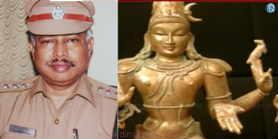 DSP kathar batsha arrested who was involved in idol smuggling