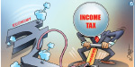 Due to the implementation of the GST line, the loss of Rs 4,000 crore to the business tax department is more than last year
