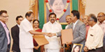 The Chief Minister of Tamil Nadu has signed the signing of the solar power procurement agreement in Tamil Nadu