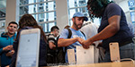 IPhone 8 was sold in the United States: a lot of people went out of the line