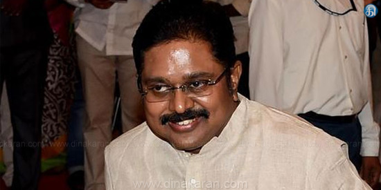 Tries to force our MLAs to police: TDV Dinakaran's allegation