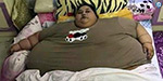 The death of an Egyptian woman with the highest weight in the world