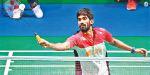 Denmark Open Badminton At the end of the foot Saina: Prayai, kanth progress