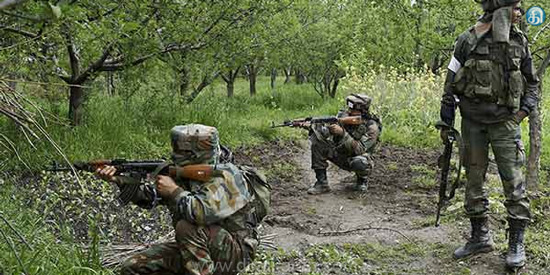 Pakistan's army has been attacked in Jammu and Kashmir