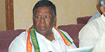 disrupt Puducherry: Chief Minister Narayanasamy