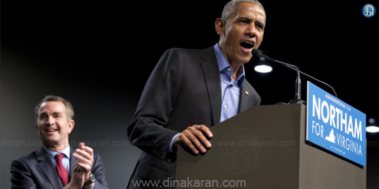 Obama in active politics again: 2 provinces in the election campaign for the Governor