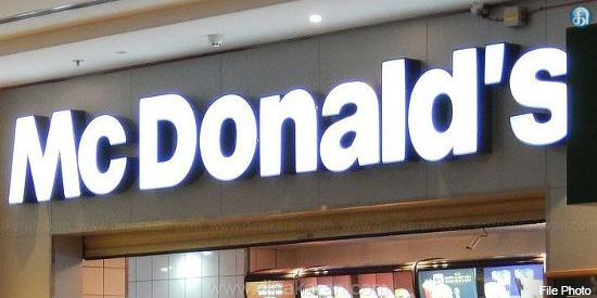 Re-opening of 18 McDonald's stores closed with license expiration