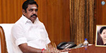 Chief Minister Edappadi Palinasamy orders Opening of Alaiyar and Manimadhya Dam irrigation