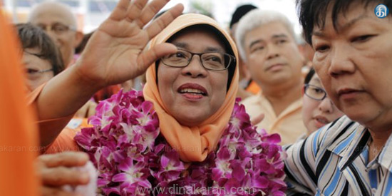 Halimah Yacob named Singapore's first women president