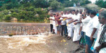 Nakkalpatti lake after 12 years: Cut the sheep and farmers puja