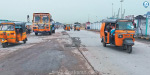Construction of new railway tracks completed Raipurapuram Railway flyover Repeat after 3 months