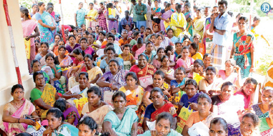 Interview with minor Anganwadi workers in Thiruvannamalai district at 13 centers