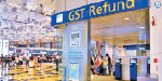 GST refund is not yet available