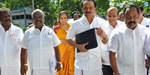DMK chief M Karunanidhi and AIADMK members referred to the name of the opposition DMK members walked out