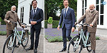 Prime Minister Modi surprised by the bicycle, the Netherlands Prime Minister's gift