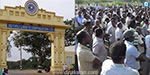 Neyveli NLC contract workers strike at the company on the 9th day