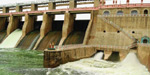 The KERB dam water level reached 51 feet: flood risk
