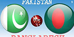 Bangladesh-Pak. Confrontation today