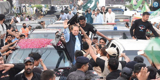 Do not accept anti-democratic removal of rulers: Nawaz Sharif's speech to volunteers