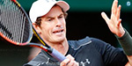 Andy won the first round of the French Open struggling : Gerber shock defeat