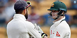 Aussie tries damage image. Media ...: Kohli Clarke Support