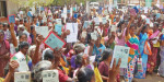 Christians silent procession in Coimbatore