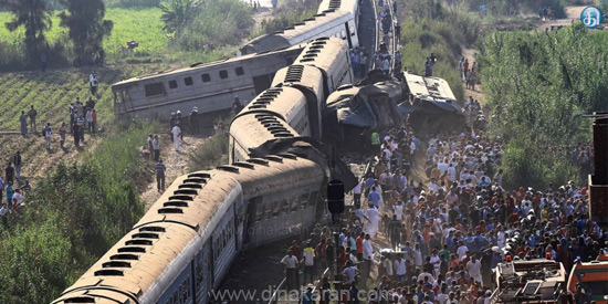 Two trains collide in Egypt face to face terrible tragedy: death toll rises to 43