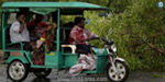 A baby boy in the auto was born to a pregnant woman at the government hospital