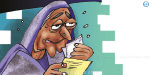 The dead woman at the bank to beg from Rs 2 crore