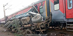 Another accident occurred in Ubay Kaiyyyappa Express railway track and injured 100 people