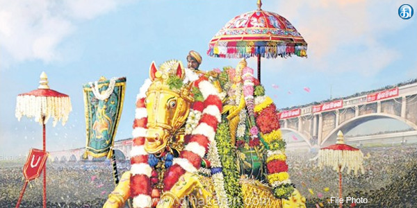 chithirai thiruvilla festival : kalalagar gets rs90lakhs as Offering