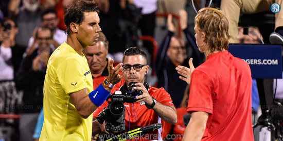 Montreal Masters tennis: Nadal's shock defeat