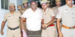 A man who threatened to demand Rs 2 lakh from Coimbatore Corporation