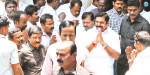 District Secretaries and ministers clash with AIADMK meeting led by Chief Minister Edappadi?