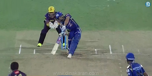 IPL T20 Qualifier 2 : Mumbai Indiams Beat Kolkatta Riders by wickets