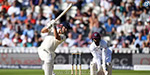 England's opener, Alastair Cook, played double century