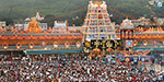Devotees wait for 12 hours to stay in Tirupati temple for a continuous holiday
