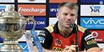 Proud of the success of the joint effort ... David Warner