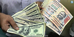 Indian rupee value down at 5 paise against Dollar