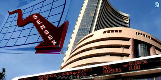 At the start of the trading, the Sensex plunged by 336 points