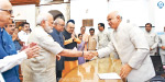 BJP candidate Ramnath Govind filed a petition in the presidential election