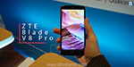 ZTE Blade V8 Pro smartphone with dual rear camera