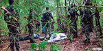 Naxalites shot dead two people in the police