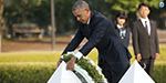 BarackObama pays tribute at Hiroshima, becomes only sitting US President to visit world's 1st nuclear attack site